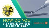 Learn how to use an epoxy compound to stake electronic components
